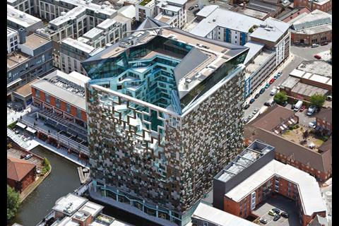 Make Architects' mixed-use Cube development in Birmingham has been billed as a tribute to the city's Jewellery Quarter.